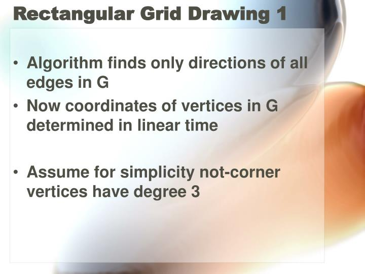 Rectangular Grid Drawing 1