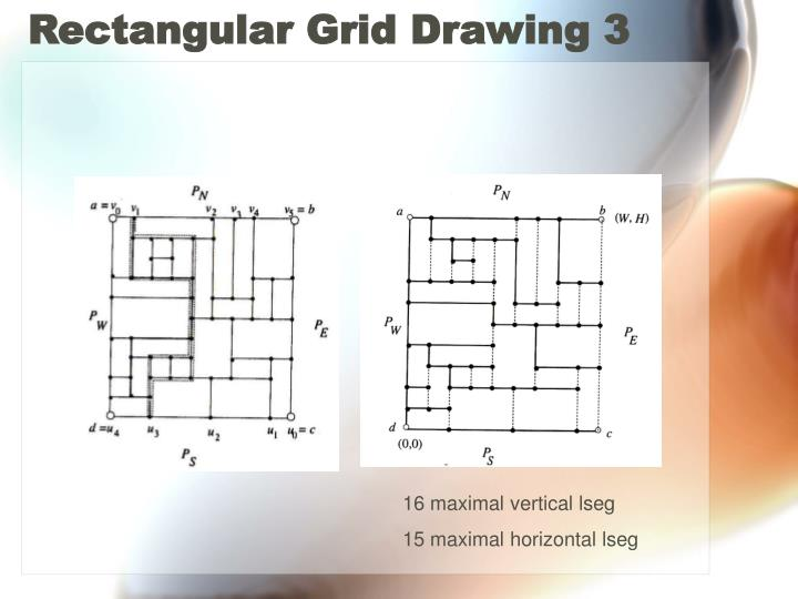 Rectangular Grid Drawing 3