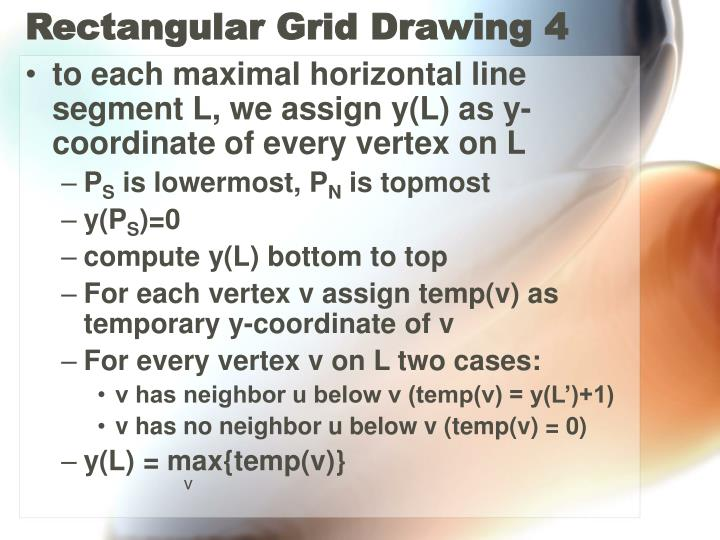 Rectangular Grid Drawing 4