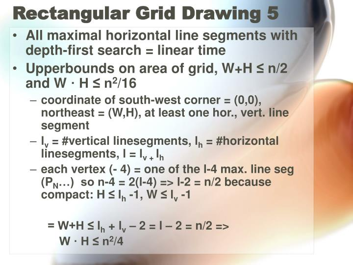 Rectangular Grid Drawing 5