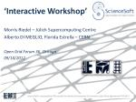 interactive workshop