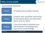 why sciencesoft