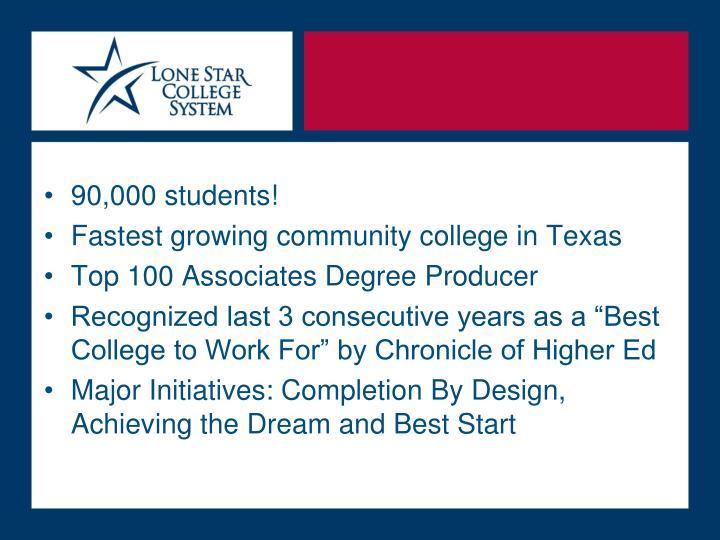 90,000 students!