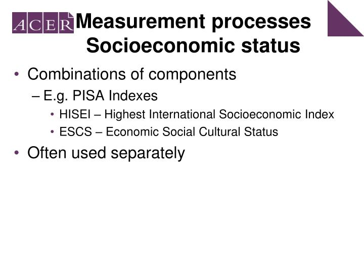 Measurement processes