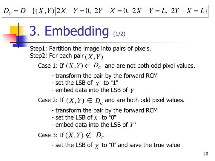 3. Embedding