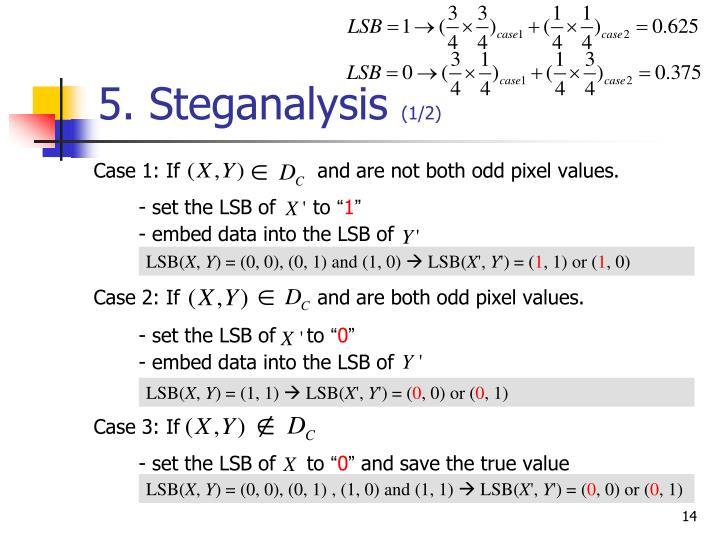 5. Steganalysis