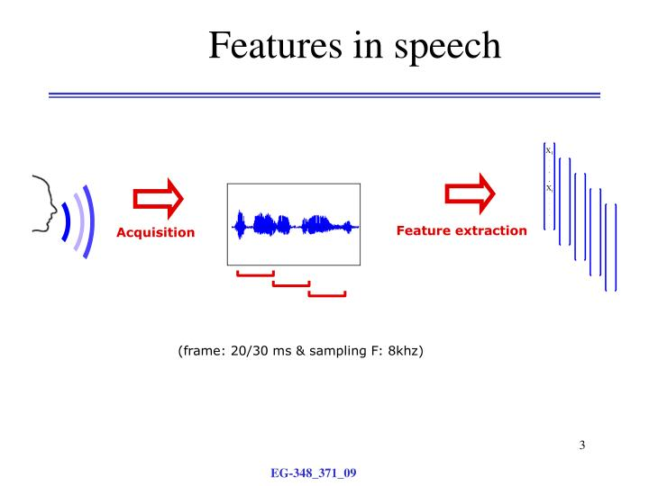 Features in speech1