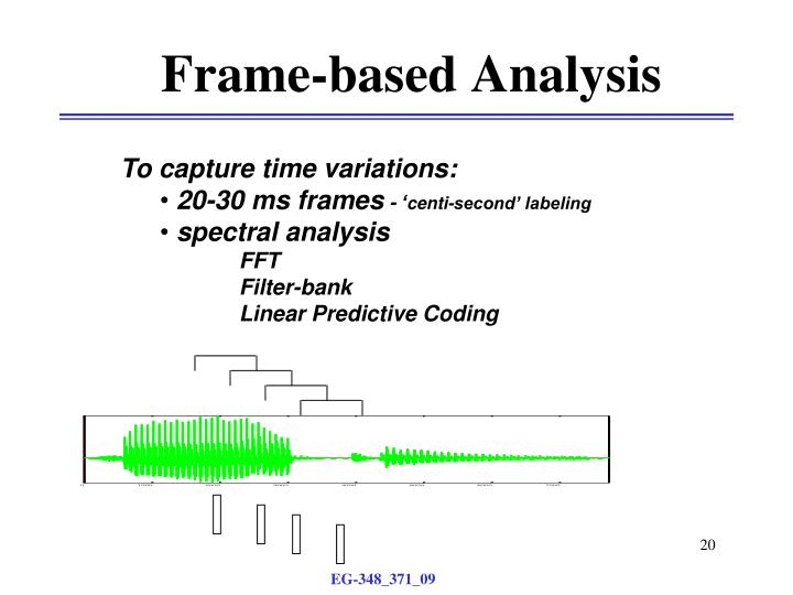 Frame-based Analysis