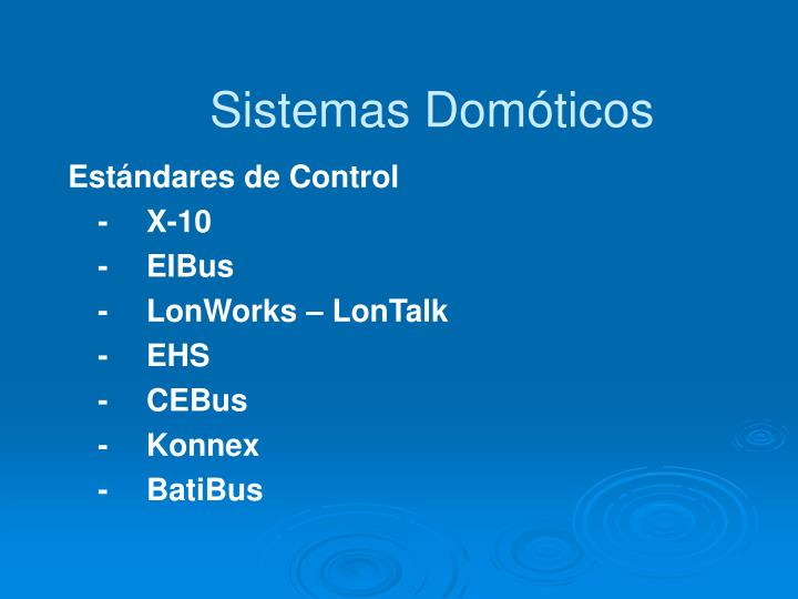 Sistemas Domóticos