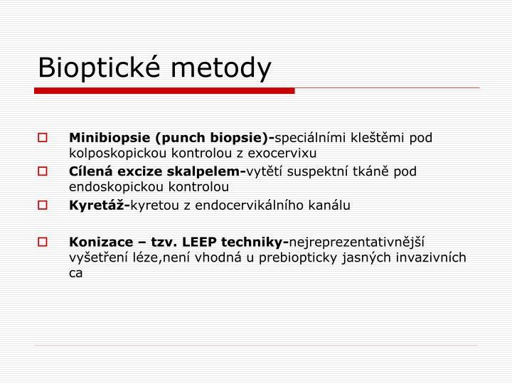 Bioptické metody