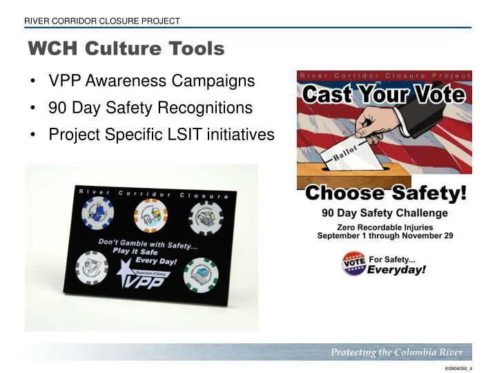 WCH Culture Tools