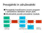 prevajalniki in zdru evalniki