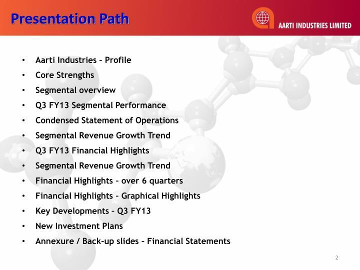 Presentation Path