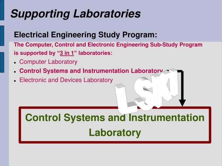 Supporting Laboratories