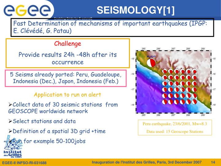 SEISMOLOGY[1]