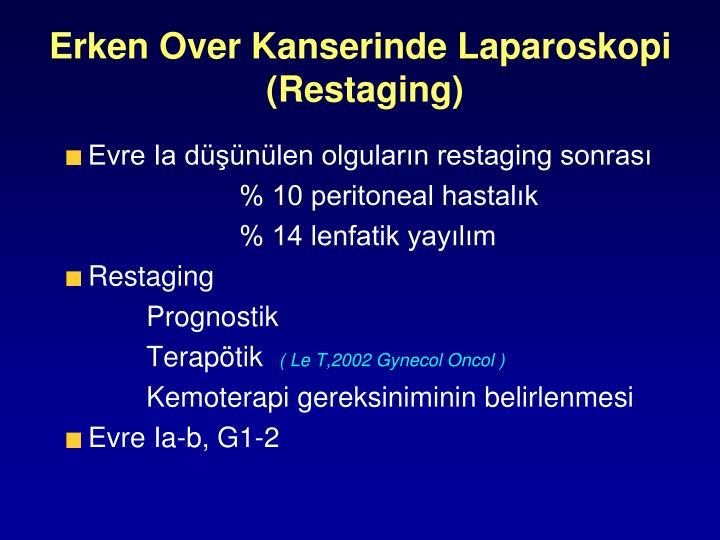 Erken Over Kanserinde Laparoskopi