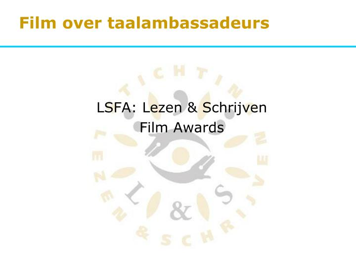 Film over taalambassadeurs