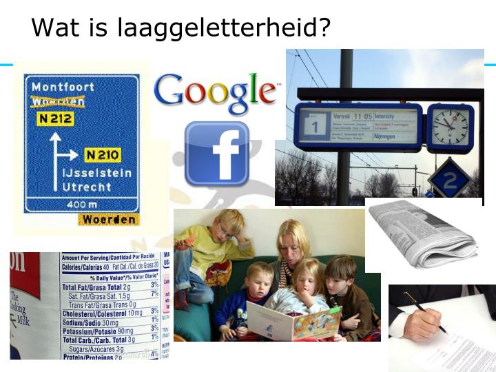 Wat is laaggeletterheid?