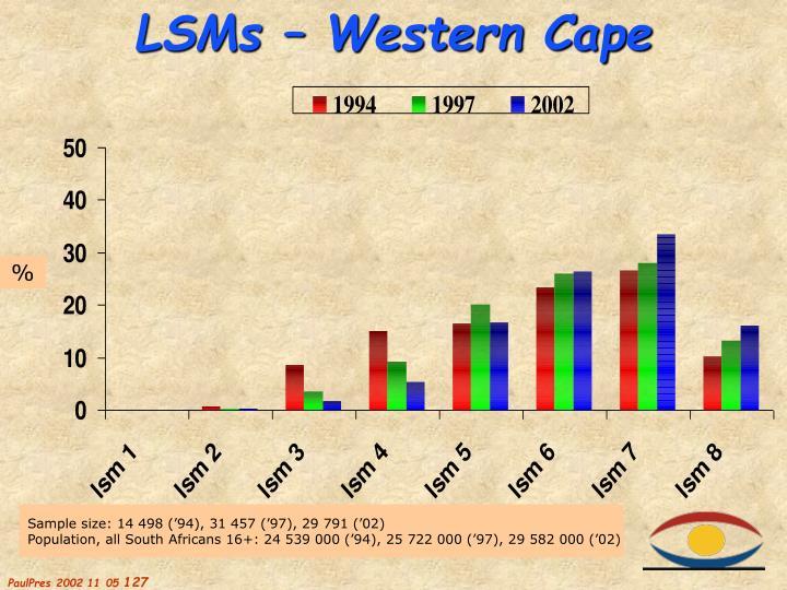LSMs – Western Cape