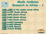 media audience research in africa 1