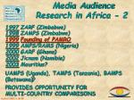 media audience research in africa 2