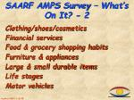 saarf a mps survey what s on it 2