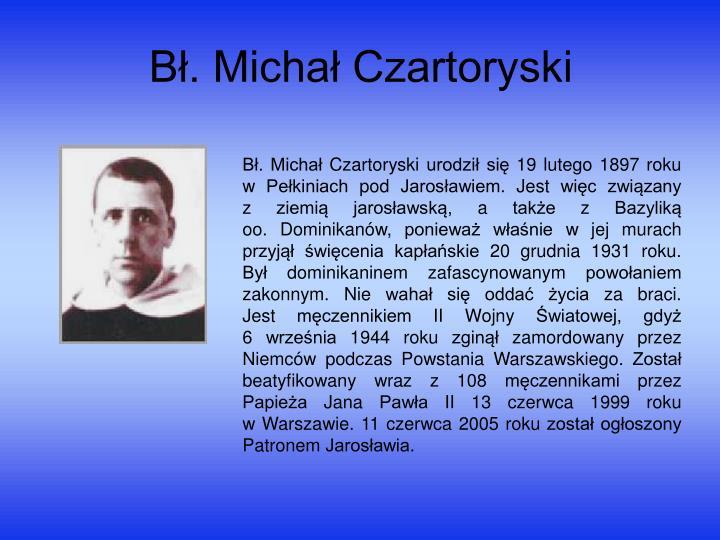 Bł. Michał Czartoryski