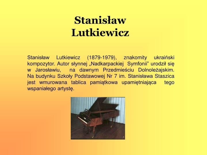Stanisław Lutkiewicz