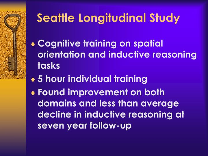 Seattle Longitudinal Study