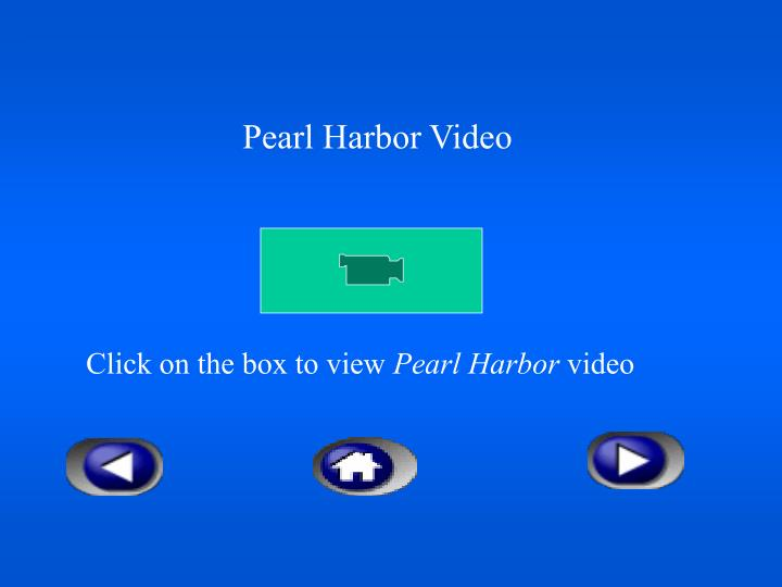 Pearl Harbor Video