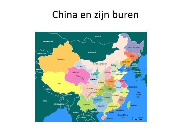 China en zijn buren