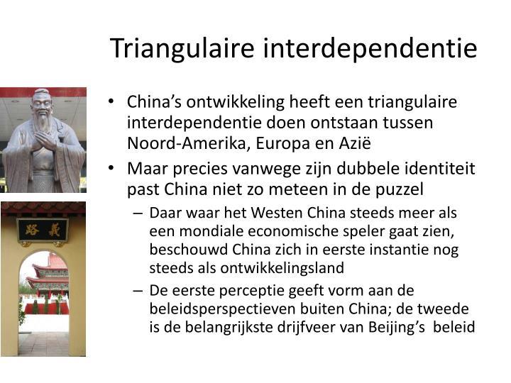 Triangulaire interdependentie