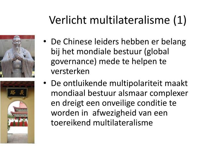 Verlicht multilateralisme