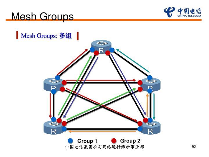 Mesh Groups