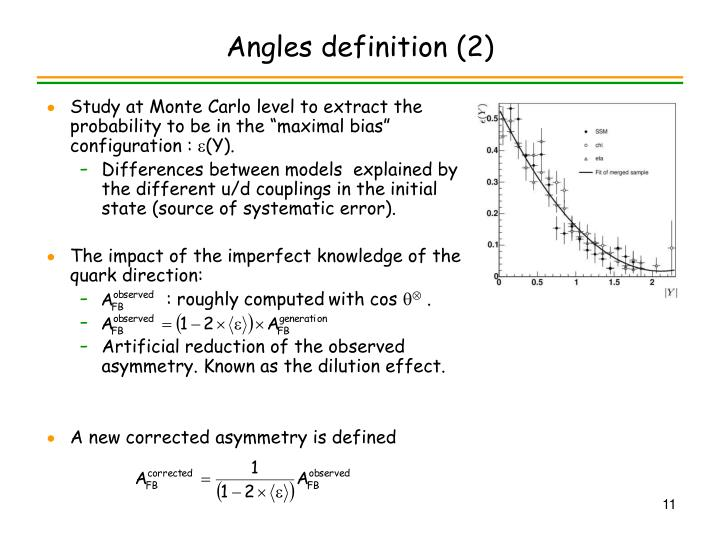 Angles definition (2)
