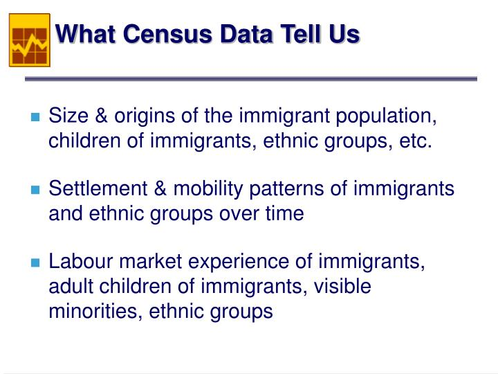 What Census Data Tell Us