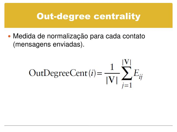Out-degree