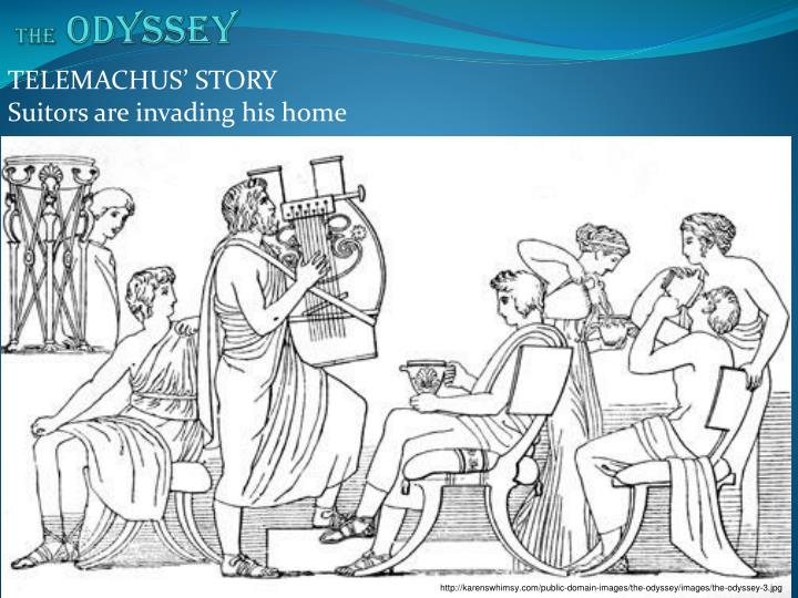 telemachus as a dynamic character in homers epic poem the odyssey Home essays odysseus character analysis odysseus character analysis not just another hero in homer's epic poem, the odyssey telemachus, and penelope are the.