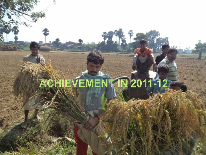 Achievement in 2011-12