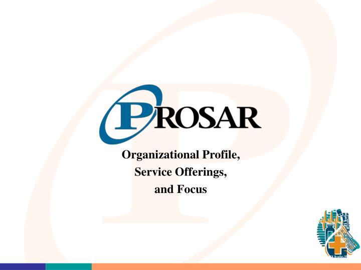 Organizational Profile,