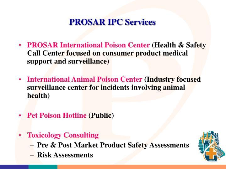 PROSAR IPC Services