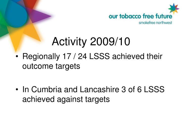Activity 2009/10