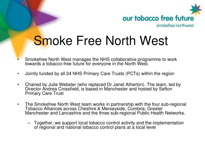 Smoke free north west