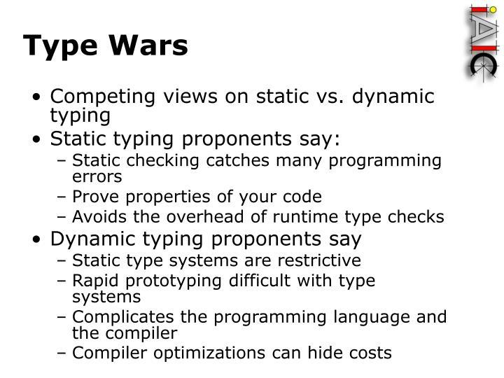 Type Wars