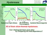 hystereses