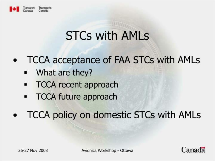 Stcs with amls