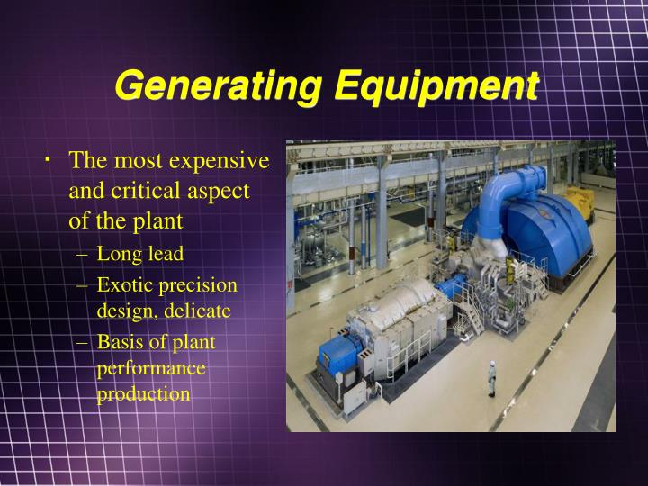 Generating Equipment