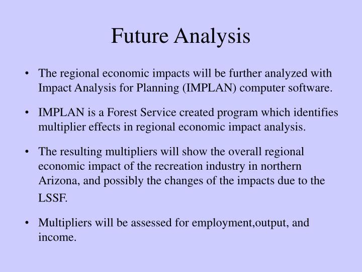 Future Analysis