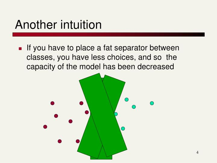 Another intuition