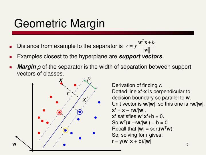 Geometric Margin